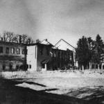 Трапезные палаты Воскресенского монастыря фото 1943 г