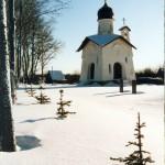 Снегири, храм у комплекса